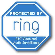 Ring Doorbell Sticker Video Security Camera Door Window Decal Outdoor Safe 3 75 Ebay