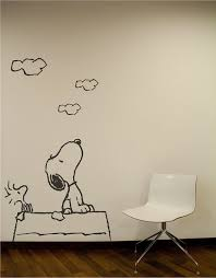 Pin By Kaitlyn Arnold On 3 Snoopy Wall Decal Wall Sticker Wall Decals