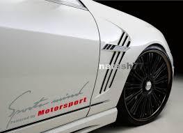 Sports Mind Powered By Motorsport Car Vinyl Decal Sticker Silver Red Fits Bmw Sports Vinyl Decals Sports Decals Volkswagen Routan