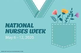 national nurses week botanical