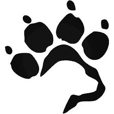 Labrador Retriever Paw Print Vinyl Decal Sticker