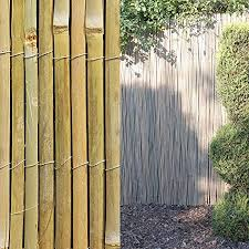 4m Bamboo Slat Natural Garden Screening Fencing Fence Panel Privacy Screen Roll 4m X 1 8m Amazon Co Uk Garden Outdoors