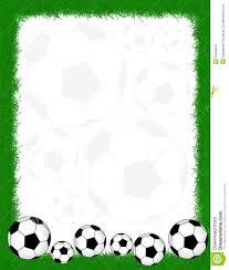 Football Borders And Frames Soccer Frame Border 19549543 Jpg 1101