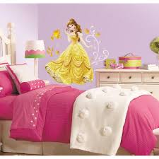 Roommates 5 In X 19 In Disney Princess Belle Peel And Stick Giant Wall Decal Rmk2551gm The Home Depot