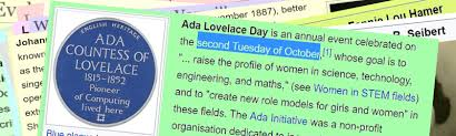 File:O0891011 second TUESDAY is Ada Day.png - Wikimedia Commons