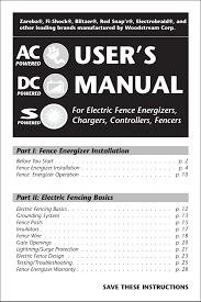 Manual Zareba Systems