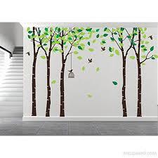 Amazingwall 180x264cm 70 9x103 9 Cartoon Large Tree Wall Sticker Living Room Bedroom Kids Room Nursery