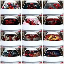 Deadpool Transparent Car Back Rear Window Decal Vinyl Sticker Fit Any Car Ebay