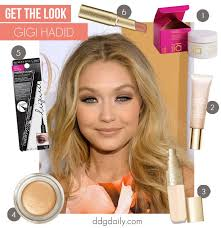 makeup tips get the look gigi hadid