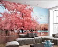korean wallpaper pink bedroom