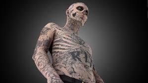 zombie boy makeup tattoo saubhaya makeup