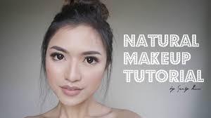 natural make up tutorial asian