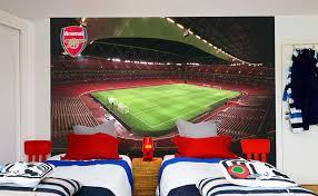 Amazon Com Official Arsenal Football Club Emirates Stadium Full Wall Mural Sticker Decal Vinyl Poster Print 2 5m Height X 3m Width Baby