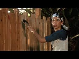 The Karate Kid Ost 18 Paint The Fence Youtube