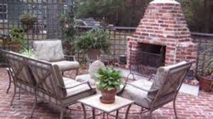 how to make an outdoor brick fireplace