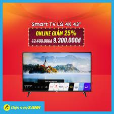 Smart Tivi LG 4K 43 inch 43UM7300PTA Mua... - Điện máy XANH ...