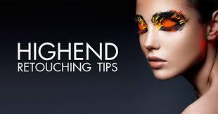 20 high end retouching photo tutorials