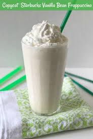 copycat starbucks vanilla bean