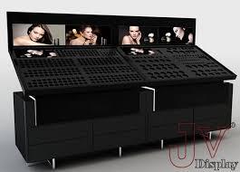 display stand design sleek modern