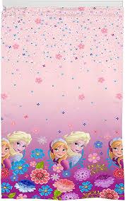 Amazon Com Franco Kids Room Darkening Window Curtain Panel 42 X 63 Pink Disney Frozen Home Kitchen