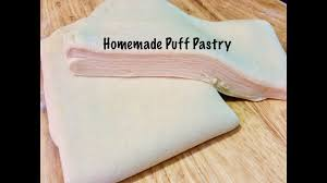 homemade puff pastry dough recipe