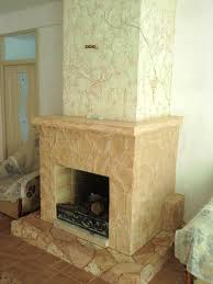 decoration of the fireplaces