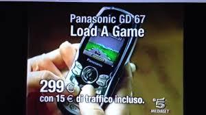 Spot Panasonic gd67 Vodafone Omnitel ...