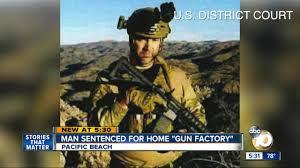 man sentenced for gun factory inside