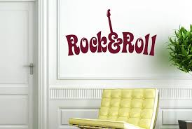 Singer Star Wall Decal Quotes Rock And Roll Special Design Wall Stickers Modern Music Home Decal Interior Bedroom Sticker Syy777 Stickers Modern Designer Wall Stickerswall Sticker Aliexpress
