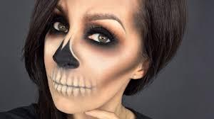 easy skull l halloween makeup tutorial