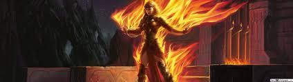 magical fire hd wallpaper