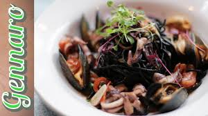 Perfect Squid Ink Pasta with Gennaro ...