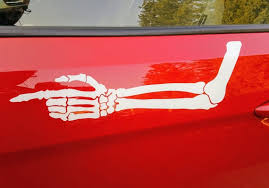 Mad Max Fury Road Furiosa Skeletal Arm Vinyl Decal Etsy