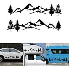 Amazon Com Rv Trailer Camper Motorhome Large Vinyl Decals Graphics Kit K 0006 3 Automotive