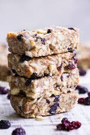 cherry berry grain free granola bars