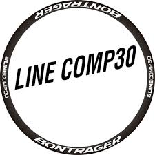 Two Wheel Sticker Set For Bontrager Line Comp 30 Mountain Bike Mtb Bicycle Decal Cycle Decal