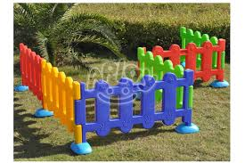 Colorful Kids Plastic Fence For Garden Items Ap Fc0001