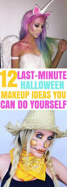 last minute easy makeup ideas