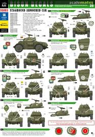 Staghound Armoured Car Bison Decals 35063