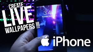 create your own iphone live wallpapers