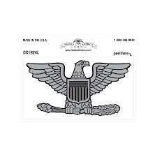 Army Usaf Colonel Rank Decal