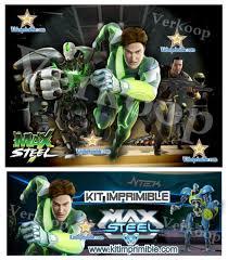 Kit Imprimible Max Steel