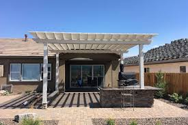 wood or aluminum patio covers