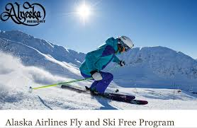 ski for free with your alaska airline