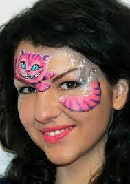 wonderland face painting designs