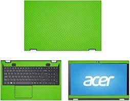 Amazon Com Decalrus Protective Decal For Acer Spin 3 Sp315 51 15 6 Screen Laptop Green Carbon Fiber Skin Case Cover Wrap Cfacerspin3 Sp315green Computers Accessories