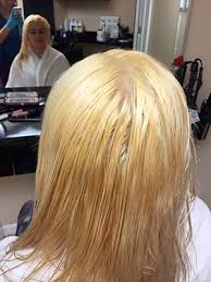bleach hair blonde without damage