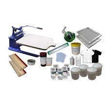 1 1 color screen printing kit diy