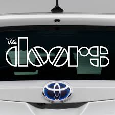 Decal The Doors American Rock Band Buy Vinyl Decals For Car Or Interior Decal Factory Stickerpro Different Colors And Sizes Is Avalable Free World Wide Delivery