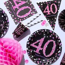40th birthday party themes ideas
